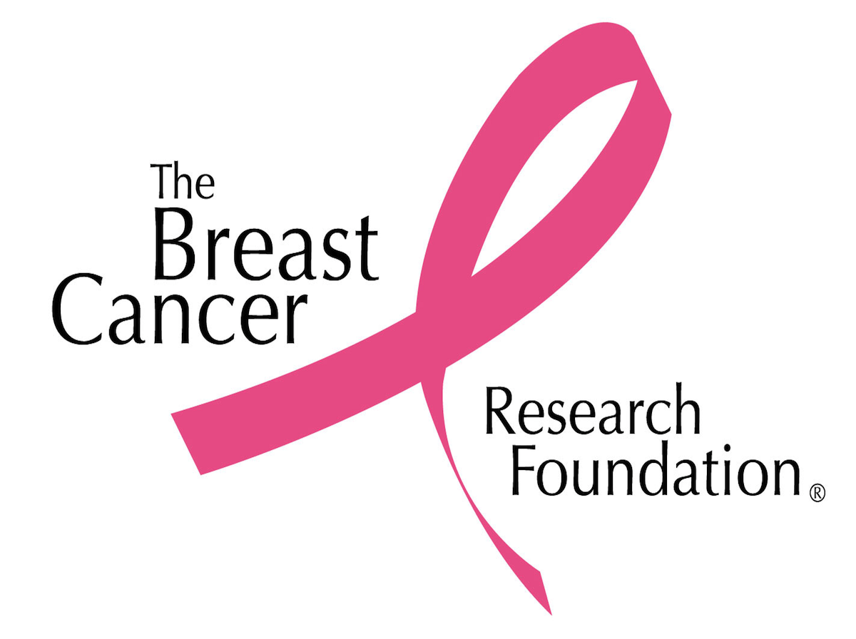 Photo showing the logo of The Breast Cancer Research Foundation