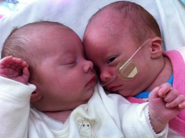 The heart-warming story of twins, Kiki and Nico, born prematurely