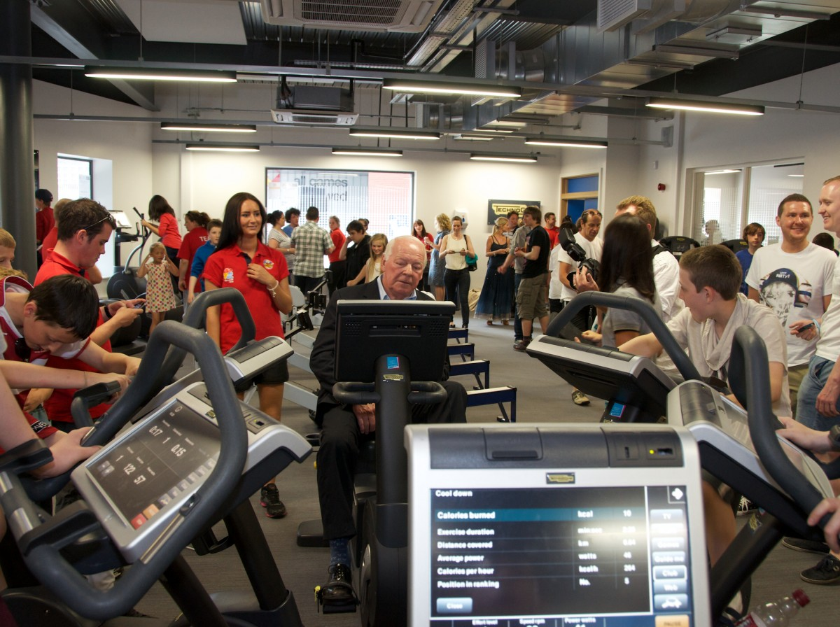 Technogym Powers Wigan Youth Zone S Gym Inspired By