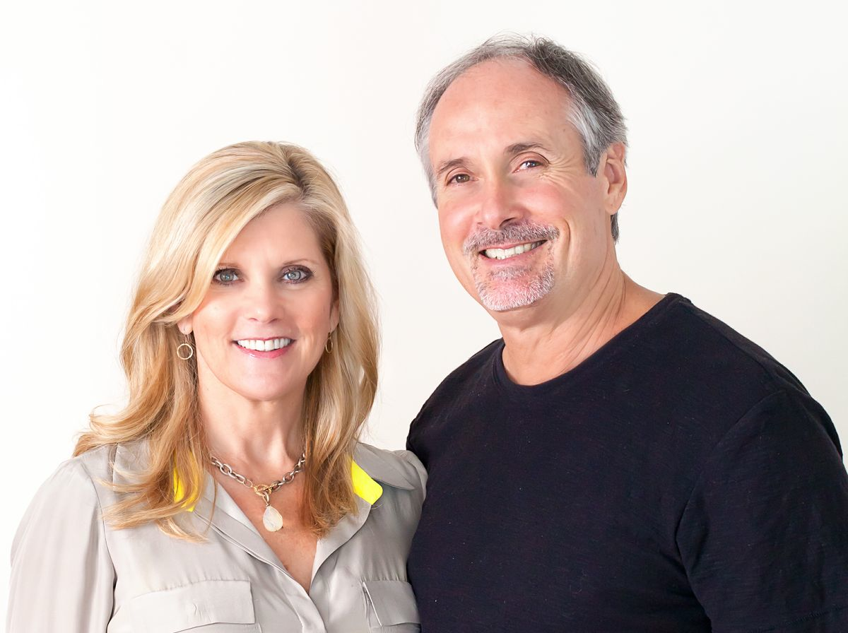 Picture of a smiling Ron and Sandy Franco, co-founders of the Francos Health and Fitness Center in Lousianna USA